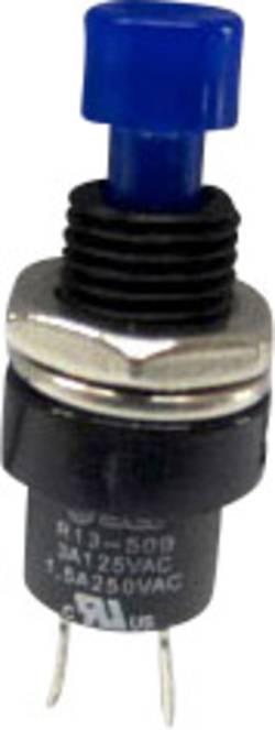 Bouton-poussoir à rappel TRU COMPONENTS TC-R13-509A-05BL 1587750 250 V/AC 1.5 A 1 x Off/(On) à rappel 1 pc(s)