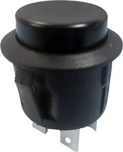 Bouton-poussoir à accrochage TRU COMPONENTS TC-R13-527B-02BK 1587758 250 V/AC 6 A 2 x On/Off à accrochage 1 pc(s)