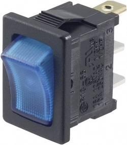 Interrupteur à bascule TRU COMPONENTS TC-R13-66B-02 LED 12 V 1587857 12 V/DC 16 A 1 x Off/On à accrochage 1 pc(s)