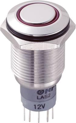 Interrupteur anti vandalisme TRU COMPONENTS LAS2GQF-22ZE/R/12V/S/P 701908 250 V/AC 3 A 2 x On/On à accrochage 1 pc(s)