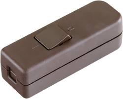 Interrupteur pour câble souple interBär 8006-009.01 marron 1 x Off/On 6 A 1 pc(s)