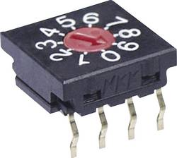 NKK Switches FR01FR16H-S Commutateur rotatif 50 V/DC 0.1 A