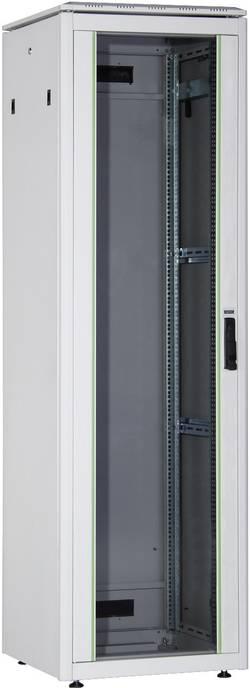 """Digitus Professional DN-19 42u-6/6-1 Armoire baie de brassage 19"""" (l x h x p) 600 x 2053 x 600 mm 42 UH gris-clair (RAl"""