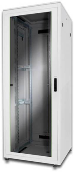"""Digitus Professional DN-19 42u-8/8-1 Armoire baie de brassage 19"""" (l x h x p) 800 x 2053 x 800 mm 42 UH gris-clair (RAl"""