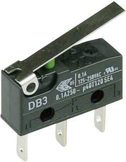 Cherry Switches Microrupteur DB3C-B1LC 250 V/AC 0.1 A 1 x On/(On) à rappel 1 pc(s)