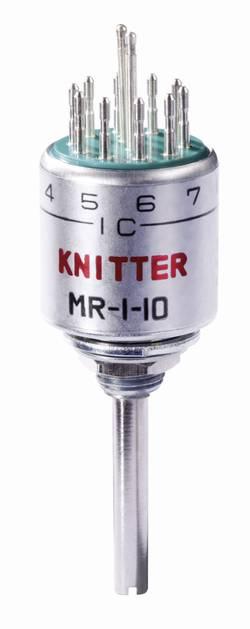 Knitter-Switch MR 1-10 Commutateur rotatif à galettes 125 V/AC 0