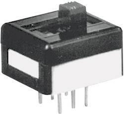Interrupteur à glissière APEM 25139N090 250 V/AC 2 A 1 x On/Off/On 1 pc(s)
