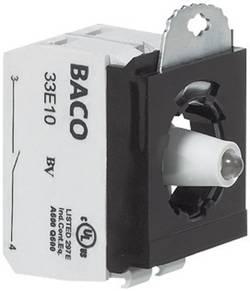 Élément de contact, Élément LED avec adaptateur de fixation BACO BA333ERAGH10 1 NO (T) à rappel 230 V 1 pc(s)