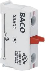 Elément de contact BACO BA33S10 1 NO (T) à rappel 600 V 1 pc(s)