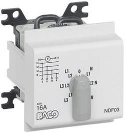 Commutateur de voltmètre BACO BANDF03 16 A 360 ° gris 1 pc(s)