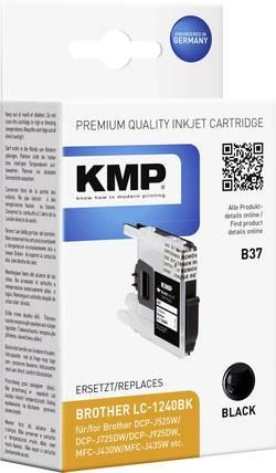 KMP Encre remplace Brother LC-1240 compatible noir B37 1524,0001