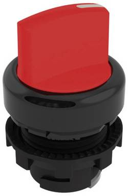 Bouton sélecteur rouge 1 x 45 ° P