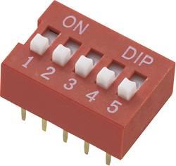 Interrupteur DIP TRU COMPONENTS 709426 Nombre total de pôles 3 standard 1 pc(s)