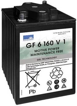 Batterie au plomb 6 V 160 Ah GNB Sonnenschein GF 06 160V1 plomb-gel (l x h x p) 246 x 275 x 192 mm pôle conique