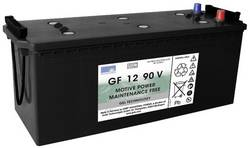 Batterie au plomb 12 V 90 Ah GNB Sonnenschein GF 12 090 V plomb-gel (l x h x p) 513 x 219 x 189 mm pôle conique
