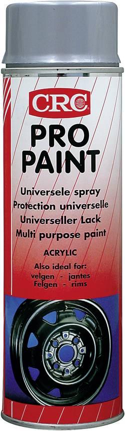 CRC 10918-AB Spray pour jantes PRO PAINT argent 500 ml