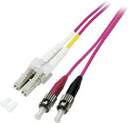 Câble de raccordement fibre optique EFB Elektronik O0326.7,5 [1x LC mâle - 1x ST mâle] 50/125 µ Multimode OM4 7.50 m