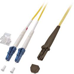 Câble de raccordement fibre optique EFB Elektronik O0704.2 [1x MTRJ mâle - 1x LC mâle] 9/125 µ Singlemode OS2 2 m