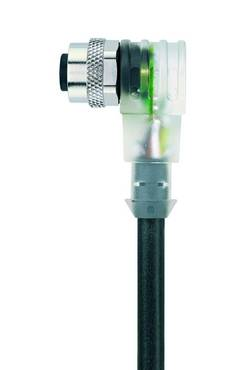 """Câble M12 pour capteurs/actionneurs """"Automation Line"""" LED Escha AL-WWAK4P3.1-5/S370 8045912 Pôle: 4 Conditionnement: 1 p"""
