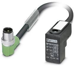 Connecteur confectionné 1.50 m Phoenix Contact SAC-3P-MR/ 1,5-PUR/CI-1L-Z SCO 1435658 M12 mâle coudé - Connecteur d'élec