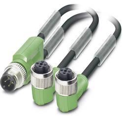 Câble pour capteurs/actionneurs Phoenix Contact SAC-3P-M12Y/2X0,3-PUR/M12FR B 1668991 Conditionnement: 1 pc(s)