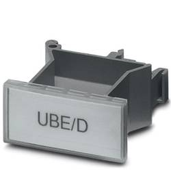 Porte-repère Conditionnement: 10 pc(s) Phoenix Contact UBE/D 0800307