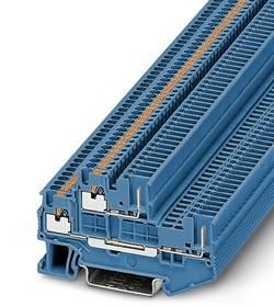 Bloc de jonction à 2 étages Phoenix Contact PTTB 1,5/S/2P BU 3212442 bleu 50 pc(s)