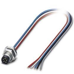 Connecteur mâle encastrable pour système de bus Conditionnement: 1 pc(s) Phoenix Contact SACC-E-M8MS-5CON-M10/0,5 DN 142