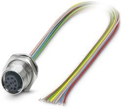 Connecteur femelle encastrable pour capteurs/actionneurs Conditionnement: 1 pc(s) Phoenix Contact SACC-DSI-M12FS-8CON-M1