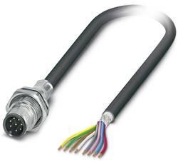 Connecteur mâle encastrable Conditionnement: 1 pc(s) Phoenix Contact SACCBP-MS-8CON-M16/1,0-PUR SCO 1419425