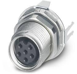 Connecteur mâle encastrable pour capteurs/actionneurs Conditionnement: 20 pc(s) Phoenix Contact SACC-DSI-M8FS-6CON-M10-L
