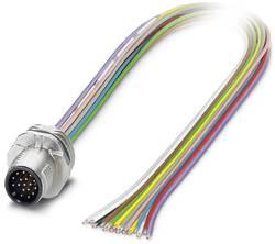 Connecteur mâle encastrable pour capteurs/actionneurs Phoenix Contact SACC-E-MS-17CON-M16/0,5 SCO 1556304 1 pc(s)