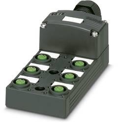 Répartiteur passif M12 filetage en plastique Phoenix Contact SACB-6/12-L-SC SCO P 1453012 1 pc(s)