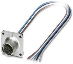 Connecteur femelle encastrable pour capteurs/actionneurs Conditionnement: 1 pc(s) Phoenix Contact SACC-SQ-M12FSB-5CON-25