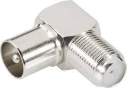 Adaptateur coaxial BKL Electronic 0403133 Coaxial mâle - F femelle 1 pc(s)