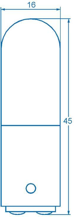 Petite ampoule tubulaire Barthelme 00100029 220 V, 260 V 6 W, 10 W BA15d clair 1 pc(s)