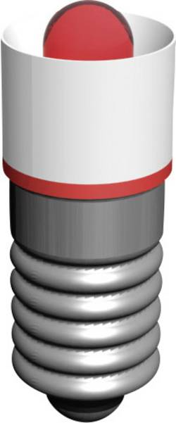 Signal Construct Ampoule LED E5.5 rouge 18 V/AC