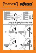 Autocollant avec illustration de la manipulation WAGO 210-400/2000-002 100 pc(s)