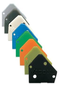 WAGO Plaque d'extrémité vert clair