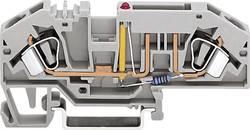 Bloc de jonction à fusibles WAGO 282-698/281-449 ressort de traction 1 pc(s)