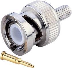 Connecteur BNC mâle, droit à sertir BKL Electronic 0401250 50 Ω 1 pc(s)