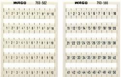 Système de marquage multiple WMB WAGO 793-4501 1 pc(s)