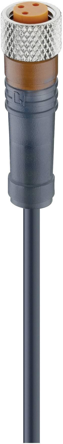 Câble de raccordement capteur/actionneur, M8 femelle, droit Lumberg Automation RKMV 3-224/5 M 12955 Conditionnement: 1