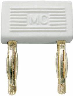 Fiche de liaison Stäubli 24.0043-29 blanc Ø de la broche: 2 mm Entraxe: 10 mm 1 pc(s)