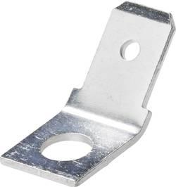 Contact à languette Largeur d'accouplement: 6.3 mm Épaisseur d'accouplement: 0.8 mm 45 ° non isolé métal Vogt Verbindun