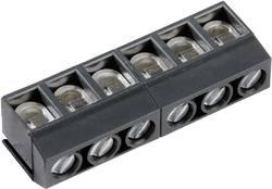 Bornier à vis PTR AKZ500/6DS-5.08-H 50500060184G 1.50 mm² Nombre total de pôles 6 gris 1 pc(s)