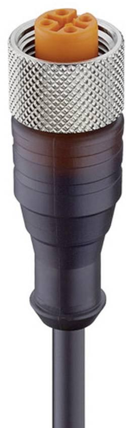 Câble M12 pour capteurs/actionneurs femelle droite Lumberg Automation RKT/LED A 4-3-224/5 M 17615 Conditionnement: 1 pc