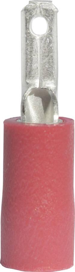 Cosse languette Largeur d'accouplement: 2.8 mm Épaisseur d'accouplement: 0.8 mm 180 ° partiellement isolé rouge Vogt Ve