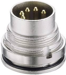 Connecteur circulaire DIN embase mâle verticale Lumberg 0315 05 Nombre total de pôles: 5 argent 1 pc(s)