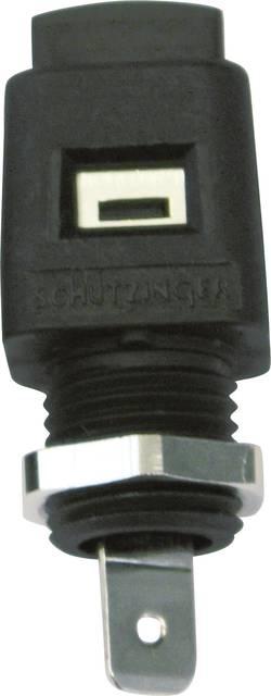 Borne encastrable à connexion rapide Schützinger ESD 498 / GN vert 16 A 1 pc(s)